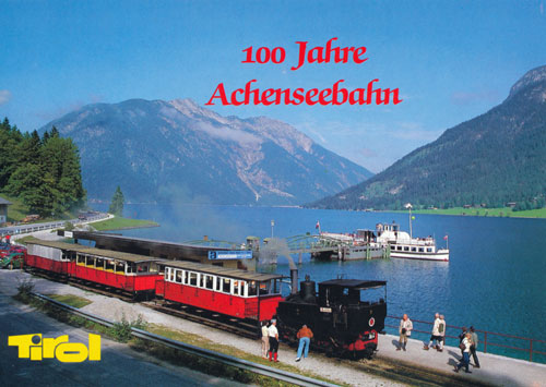 Achenseebahn - www.simplonpc.co.uk - Simplon Postcards