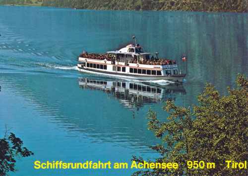 Achenseeschiffahrt -  www.simplonpc.co.uk - Simplon Postcards