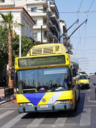 Athens - Trolleybuses - Photo: ©Ian Boyle 13th September 2016