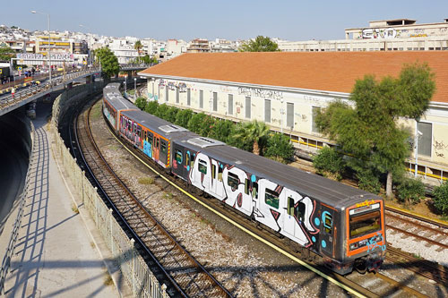 Athens Metro - Photo: ©Ian Boyle 15th September 2016