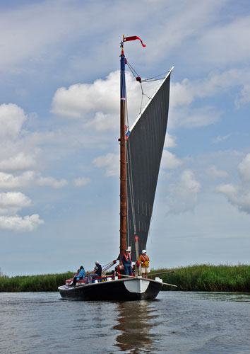 Norfolk Wherry ALBION - www.simplonpc.co.uk