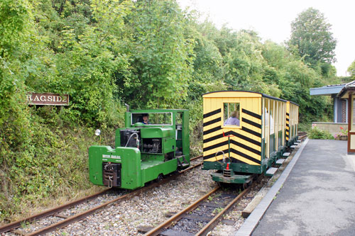 Amberley Museum Railway - Photo: © Ian Boyle 9th September 2012 - www.simplonpc.co.uk