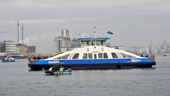 GVB Amsterdam Ferry - www.simplonpc.co.uk - Photo: ©Ian Boyle 30th October 2016