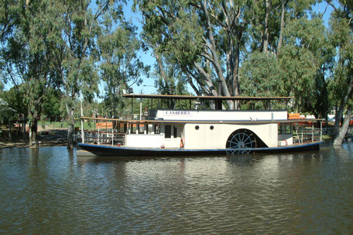 Murray River Steamers - Photo: �2011 Ian Greig - www.simplonpc.co.uk