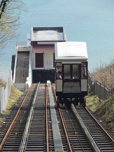 Babbacombe Cliff Railway - Photo: ©Ian Boyle 1st March 2015