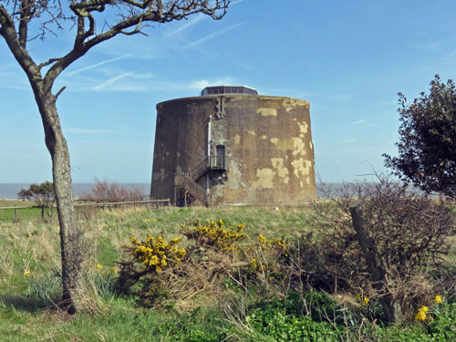 Martello Tower W - Bawdsey, Suffolk - Photo: ©2013 Ian Boyle - www.simplonpc.co.uk