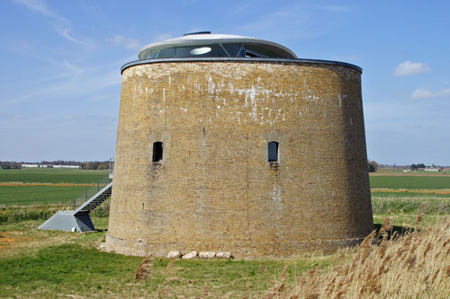 Martello Tower X - Bawdsey, Suffolk - Photo: ©2013 Ian Boyle - www.simplonpc.co.uk
