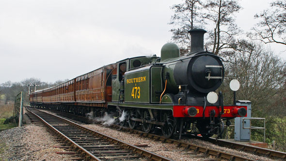 473 Birch Grove Class E4 0-6-2T - Photo: ©2013 Ian Boyle - www.simplonpc.co.uk