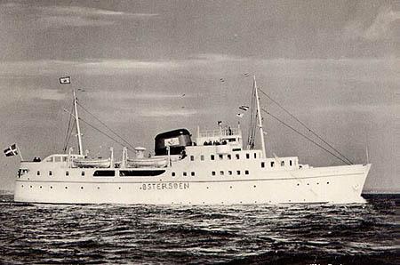 Bornholm Ship Postcards - Ångfartygs Ab Bore
