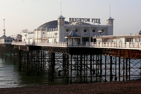Brighton Palace Pier - Photo: � Ian Boyle, 3rd January 2009 - www.simplonpc.co.uk