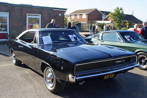 Dodge Charger R/T - Canvey Museum Open Day - Photo: © Ian Boyle, 14th October 2012 - www.sinplonpc.co.uk