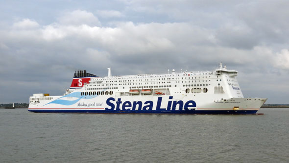 STENA BRITANNICA - Stena Line - Photo: © Ian Boyle, 12th October 2013 - www.simplonpc.co.uk