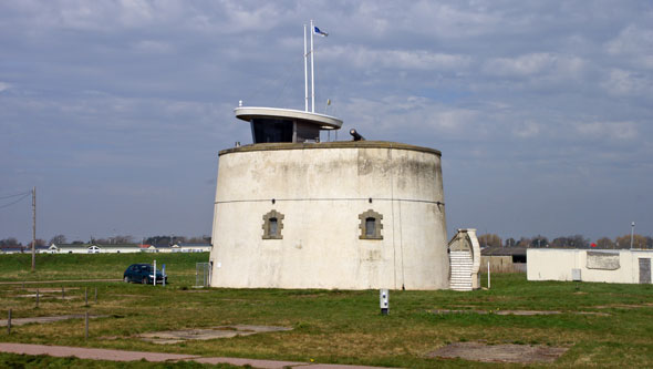 Martello Tower C - Photo: ©2013 Ian Boyle - www.simplonpc.co.uk