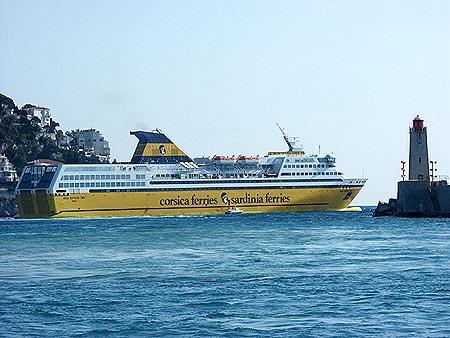 Corsica Ferries Mega Express Photographs