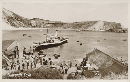 EMPRESS at Lulworth Cove - www.simplonpc.co.uk