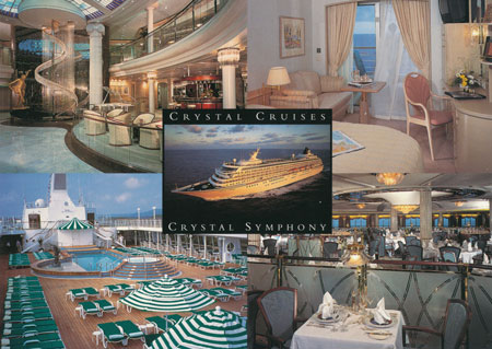 CRYSTAL SYMPHONY - Crystal Cruises - www.simplonpc.co.uk