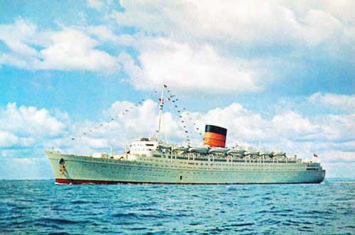 CARONIA of 1948 - www.simplonpc.co.uk