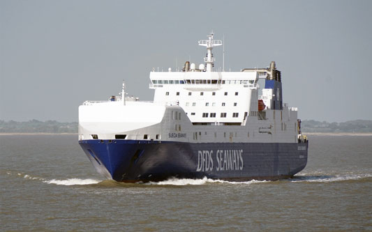SUECIA SEAWAYS (DFDS) - Photo: © Ian Boyle, 15th May 2015 - www.simplonpc.co.uk