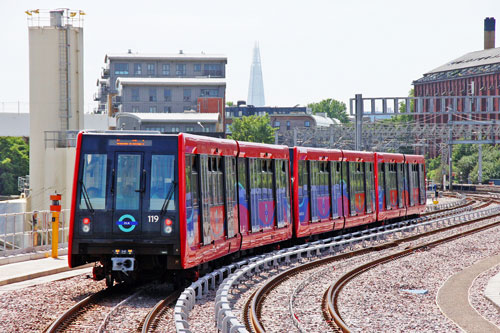 DLR - Pudding Mill Line - Photo: © Ian Boyle, 17th June 2014 - www.simplonpc.co.uk