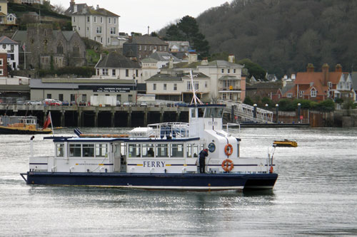 KINGSWEAR PRINCESS - Dartmouth Riverboats - Photo: ©2013 Richard Clammer - www.simplonpc.co.uk