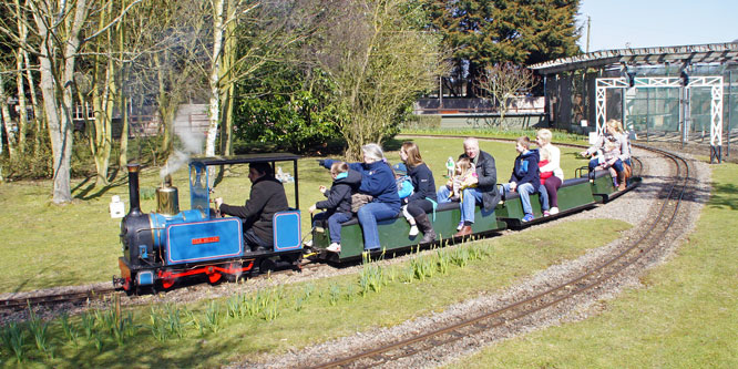 East Herts Miniature Railway - Photo: �2013 Ian Boyle - www.simplonpc.co.uk