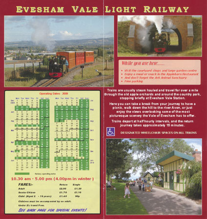 EVESHAM VALE LIGHT RAILWAY - www.simplonpc.co.uk