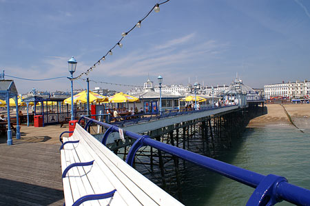 Eastbourne Pier - Sussex - www.simplonpc.co.uk -  Photo: © Ian Boyle, 3rd July 2006