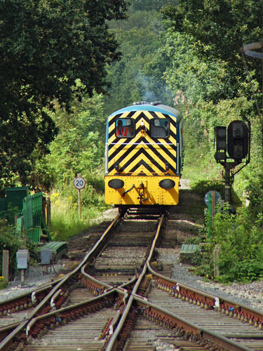 Epping Ongar Railway - Photo: ©2012 Ian Boyle - www.simplompc.co.uk - Simplon Postcards