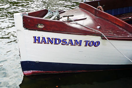 HANDSAM TOO (1934) - River Avon, Evesham - Photo: © Ian Boyle, 24th September 2011