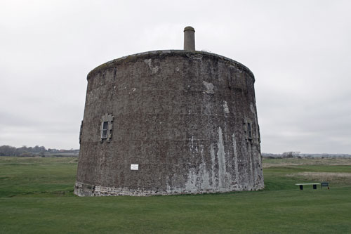Martello Tower T at Felixstowe - Photo: © Ian Boyle, 14th November 2012 - www.simplonpc.co.uk