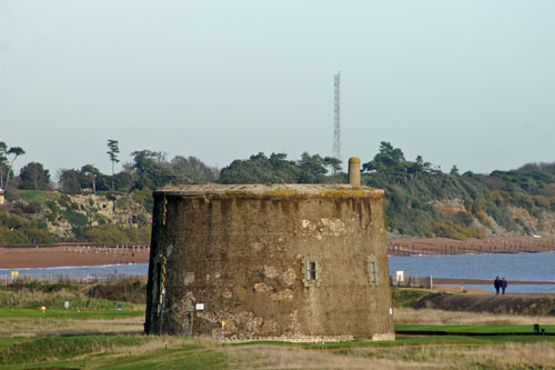 Martello Tower T at Felixstowe - Photo: © Ian Boyle, 23rd November 2012 - www.simplonpc.co.uk
