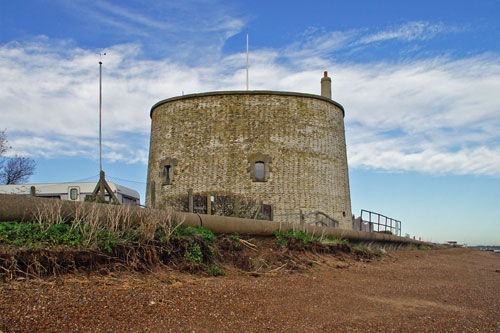 Martello Tower U at Felixstowe - Photo: © Ian Boyle, 23rd November 2012 - www.simplonpc.co.uk