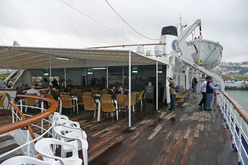On board FUNCHAL - Photo: � Ian Boyle, 18th April 2009 - www.simplonpc.co.uk