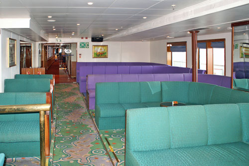 On board FUNCHAL - Photo: � Ian Boyle, 19th April 2009 - www.simplonpc.co.uk