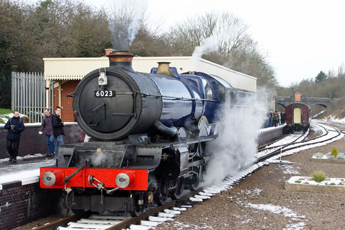 6023 King Edward II - Photo: ©2013 Ian Boyle - www.simplonpc.co.uk
