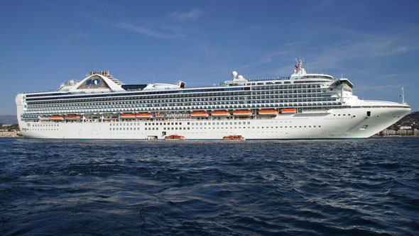 GRAND PRINCESS at Cannes - Photo: � Ian Boyle, 29th October 2011 -  www.simplonpc.co.uk
