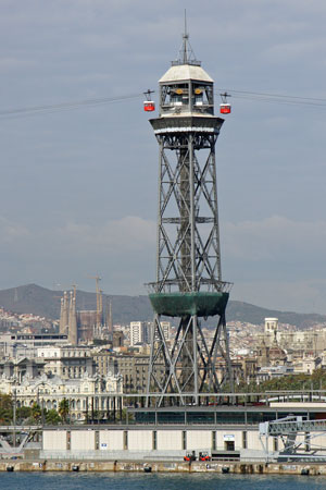 Barcelona Cable Car - www.simplonpc.co.uk - Photo: © Ian Boyle, 30th October 2011