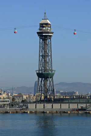 Telefèric del Port (Port-Montjuic Cable Car) - Photo: © Ian Boyle, 30th October 2011 - www.simplonpc.co.uk