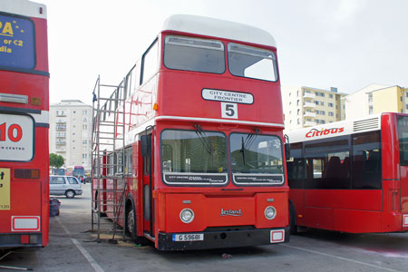 Gibraltar Buses - Photo: © Ian Boyle, 1st  November 2011 - www.simplonpc.co.uk