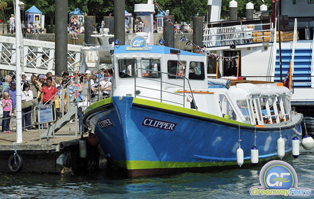 Clipper - © Greenway Ferry - www.greenwayferry.co.uk