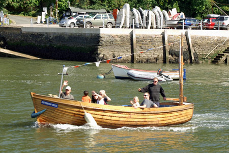 Dittisham Belle - Photo: © John Hendy, 21st August 2007 - Greenway Ferry - www.greenwayferry.co.uk