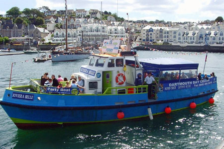 Riviera Belle - © Greenway Ferry - www.greenwayferry.co.uk
