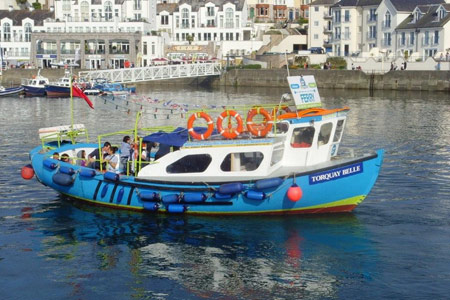 Torquay Belle - © Greenway Ferry - www.greenwayferry.co.uk