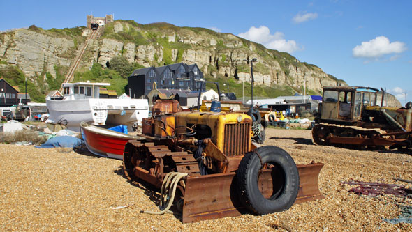 Track Marshall - Hastings Fishing Fleet - www.simplonpc.co.uk