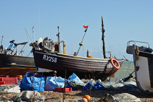 Hastings Fishing Fleet - www.simplonpc.co.uk