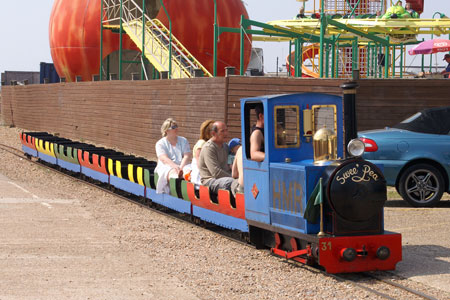 Hastings Miniature Railway - Photo: © Ian Boyle, 14th May 2007 - www.simplonpc.co.uk