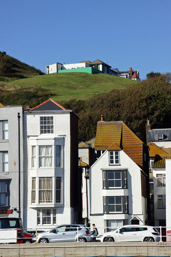 Hastings West Hill Cliff Lift - Photo: © Ian Boyle, 4th October 2014 - www.simplonpc.co.uk