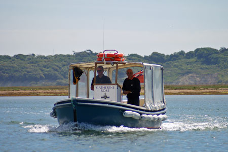 CATHERINE  ROSE of Hurst Castle Ferries - Photo: � Ian Boyle, 22nd June 2010 - www.simplonpc.co.uk