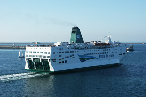 NORMANY - Irish Ferries - www.simplonpc - Photo: �2003 Ian Boyle