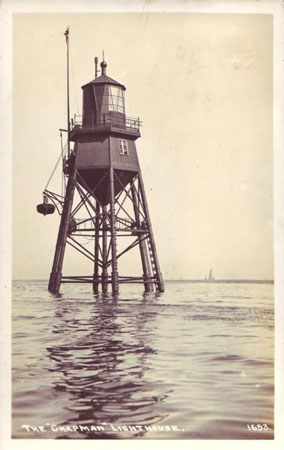 CHAPMAN LIGHTHOUSE - CANVEY ISLAND - www.simplonpc.co.uk
